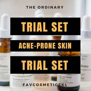 The Ordinary FavTrial Acne-Prone Skin Set
