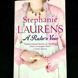 A Rake's Vow by Stephanie Laurens (historical romance book)