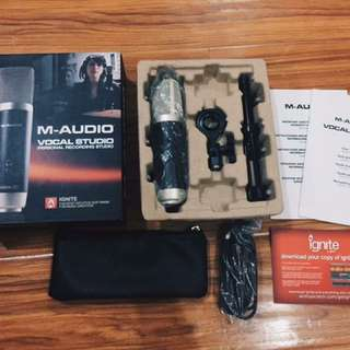 M-Audio Vocal Studio USB Condenser Mic