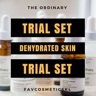 The Ordinary FavTrial Dehydrated Skin Set