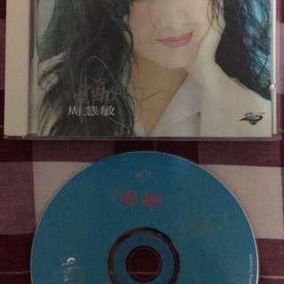 周慧敏簽名CD