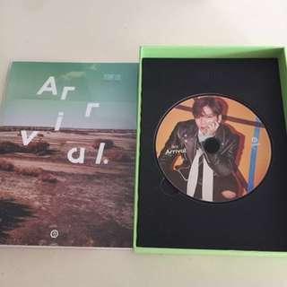 Got7 Flight Log: Arrival 韓版專輯可連小卡