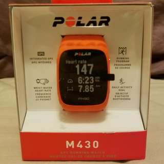 Polar M430 GPS運動手錶 [燈色]