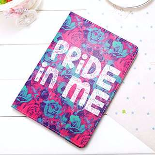 (PO) Pride In Me Words Quote Rose Flowers Floral iPad Cover