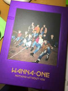 Wanna one Nothing without you Wanna ver專輯 (淨專)