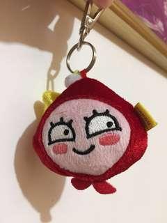 apeach聖誕鎖匙扣