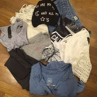 Clothes Haul! (Tops, Skirt, Outerwear)