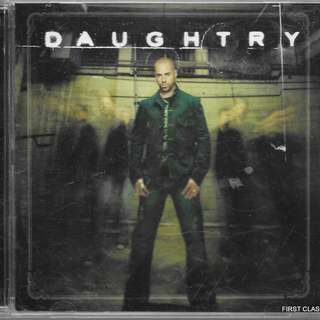 MY PRELOVED CD - DAUGHTRY /FREE DELIVERY (F7B)