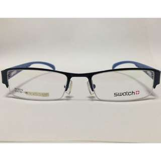 [INSTOCK] SWATCH HALF FRAME PRESCRIPTION SPECTACLES / WEAR FOR FASHION
