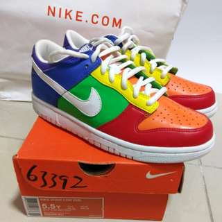 Nike Dunk Low Multi-Color (Special Version) 5.5Y
