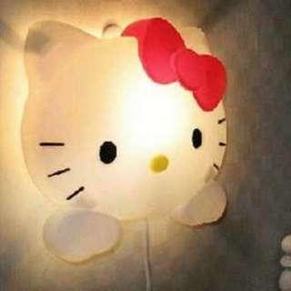 JUAL RUGI NEW LAMPU TIDUR HELLO KITTY ANAK