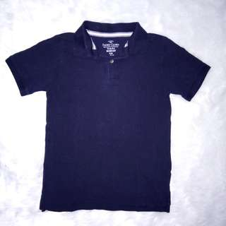 Faded Glory Navy Blue Polo Shirt