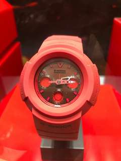 全新Casio G-Shock 35週年Red Out 限量紀念版