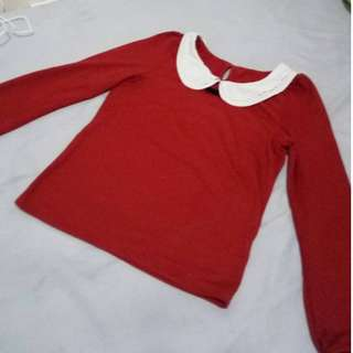 preloved long sleeve blouse