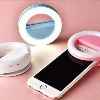 ✅Clip On Selfie Ring Light ✅Portable Fill-in Flash LED ✅Rechargeable Battery