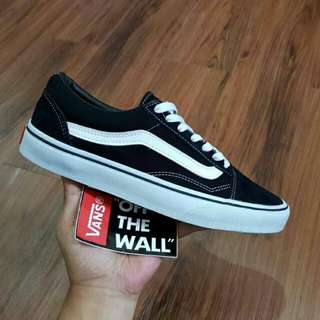 Vans Oldskool Classic Black White Premium Import Made in China Termurah Berkualitas