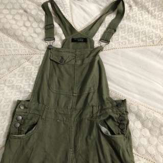 Green Pant Overalls