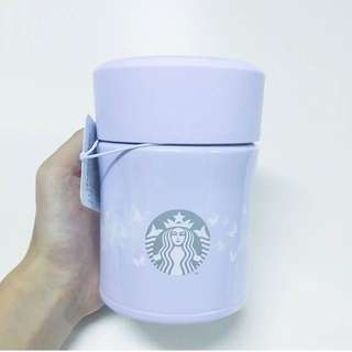 Starbucks Thermos 系列紫色保温飯壺