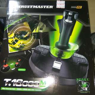 THRUSTMASTER T.16000M (AMBIDEXTROUS HALL-EFFECT USB JOYSTICK with Twist-Handle Rudder)