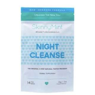 Skinnymint Night Cleanse $23 only!