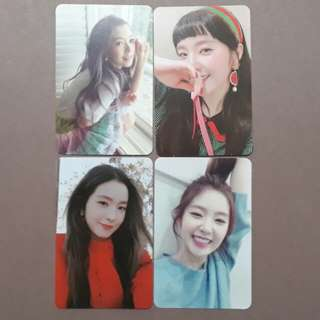 Red Velvet Irene Official Photocard