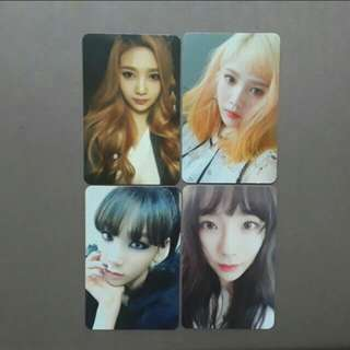 Taeyeon & Red Velvet Joy Official Photocard