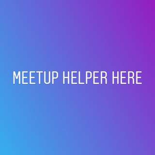 meetup helper