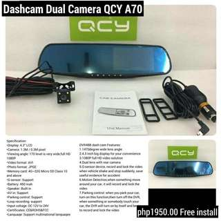 Dashcam Dual Camera Recorder