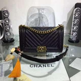Chanel Boy Chevron🔥premium