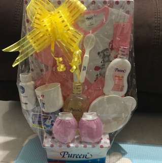Pureen Baby Girl Hamper