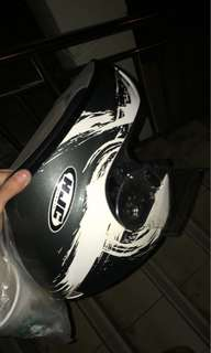 Selling hjc full face helment size s