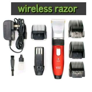 Wireless clipper use for barbers cutting
