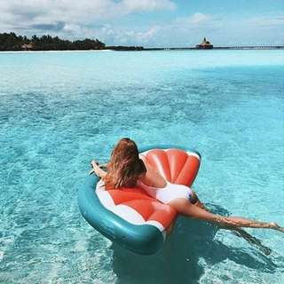 Half Slice Watermelon Pool Float