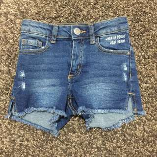 MNG kids -denim shorts
