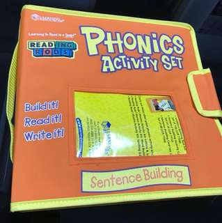 Learning resources phonics activity set reading rods