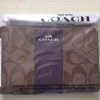COACH手提銀包