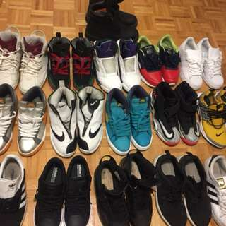Air Jordan's, Nike, Adidas, Reebok shoes for sale!