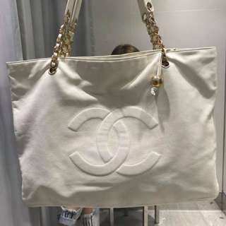 Chanel vintage white