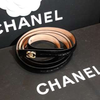 Chanel double c belt