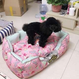 TouchDog寵物愛睡窩粉紅粉藍狗狗毛孩貓咪寵物用品