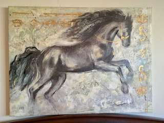 ANA Horse Canvas Painting