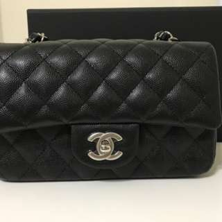 Chanel rectangular carvia SHW
