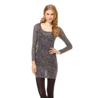 "Aritzia TALULA ""Clarendon"" grey lace dress XXS tunic top"