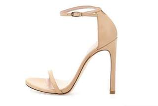 BNIP Nude minimalist sandals heels