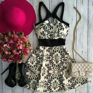 Pre order Halter black dress