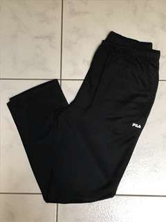 Fila Black Trackpants