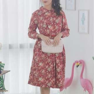 🍿 Vintage Midi Dress VD1095