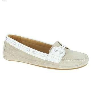 Sebago bala taupe shoes
