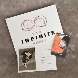Infinite Reality (Normal Edition) - Kpop Album CD + Photobook + L and Dongwoo Photocards