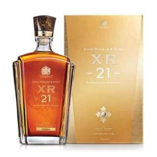 Johnnie Walker XR21 750 ml Whisky
